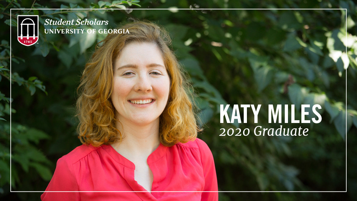 PSO Student Scholar Katy Miles recently completed degrees in both marketing & religion (plus an internship w/ @UGA_Archway), but the new #UGAgrad isn't done yet as she's sticking around Athens this year before continuing her education with @UGAGradStudies! Way to go Katy! #UGA20 https://t.co/vKlqAkwYxU