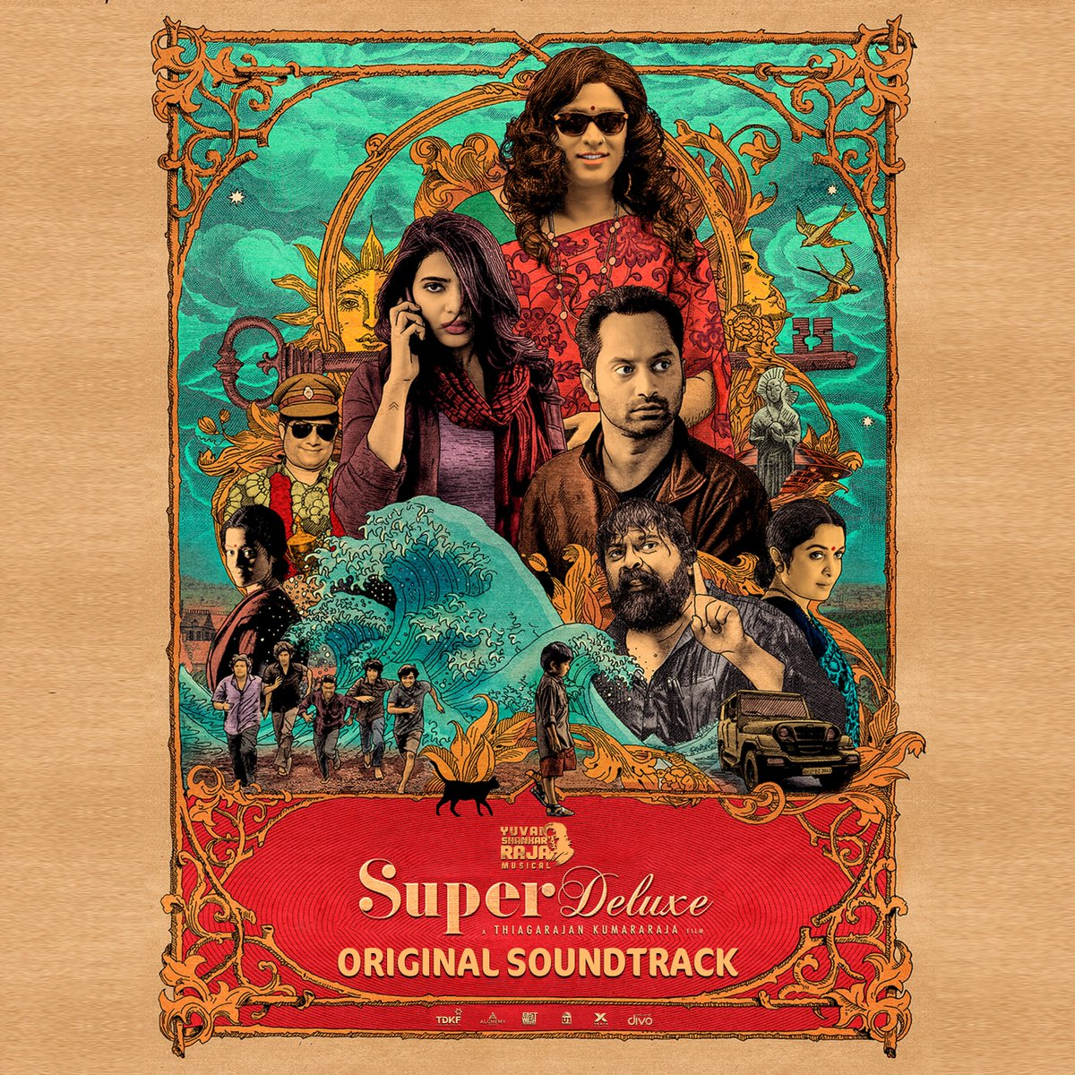 "You can utter ""Aagaaaah"" after listening to the scores in these streaming platforms as well!   ▶️ https://t.co/sgpLafo6DW  #SuperDeluxeOST @thisisysr @itisthatis @VijaySethuOffl @Samanthaprabhu2 @tylerdurdenand1 @SGayathrie https://t.co/hi0bMCZ0Tf"