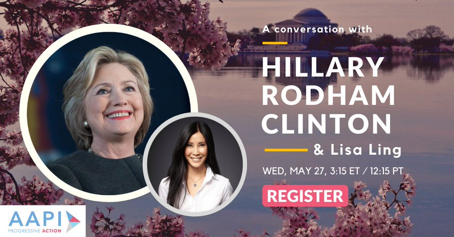 I'm looking forward to talking to @LisaLing and @ActionAAPI today about how Asian Americans can help shape Democratic elections and policies this year. Join us!  #AAPIProgressive