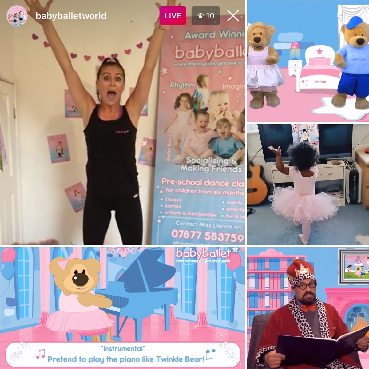 #babyballetonline  So much more than just a dance class  Join us on our Facebook page for Free Taster Sessions, Boogie Times, Sing-a-longs and a Story Time - all this week #babyballet #COVID19 #lockdown #lockdownactivities pic.twitter.com/uqFIxmeI7B