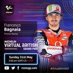 Image for the Tweet beginning: Virtual British GP #VirtualGP 🔥 #StayTuned