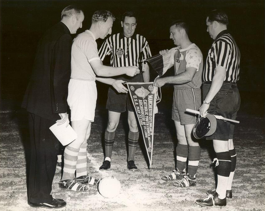 62 years ago today: @PlayCYC All Stars v @ManCity