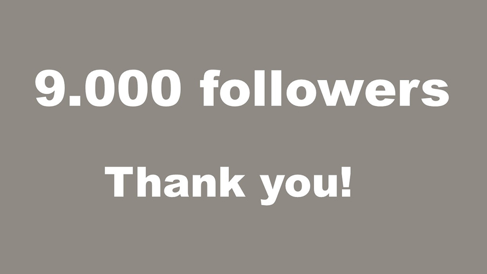 WOW! We've reached 9.000 followers here on Twitter! Thank you all for your questions, comments and support. If you would like to interact with us even more, you're welcome to follow us at @VolvoGroupSE @VolvoGroupEU and @VolvoGroupNA. Once again, thank you! https://t.co/zbHReXnuyc