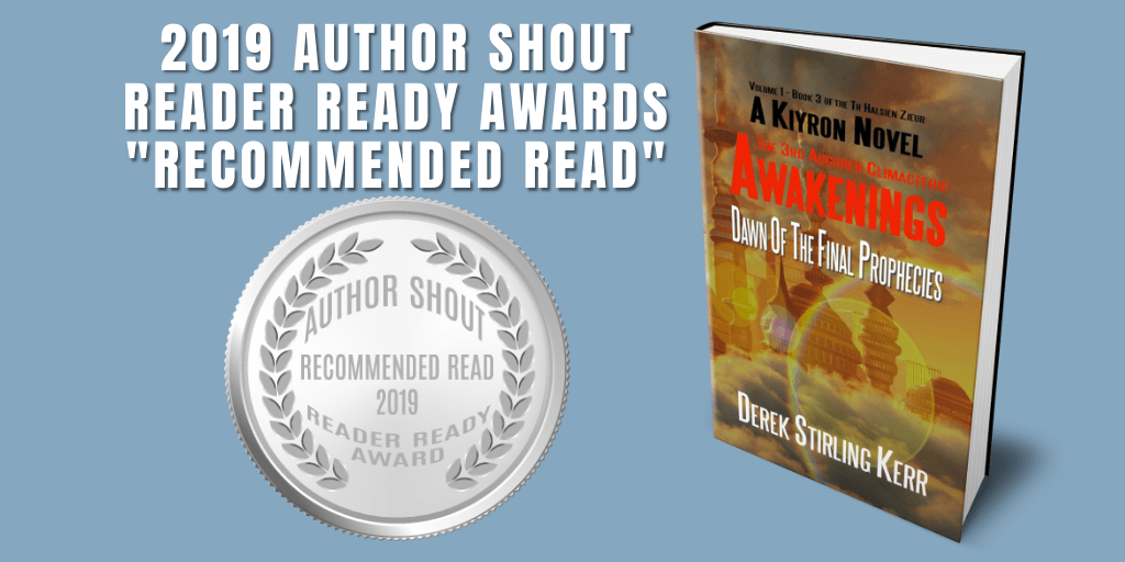 Reader Ready Award Recommended Read  Awakenings: The 3rd Augured Climacteric: Dawn Of The Final Prophecies is available at https://amzn.to/2GNIZoD   @DSK64    #award #awardwinning #awardwinningauthor #asmsg #book #books #amreading #indiebooksbeseen #recommendedreadpic.twitter.com/gVcVkT9gCp