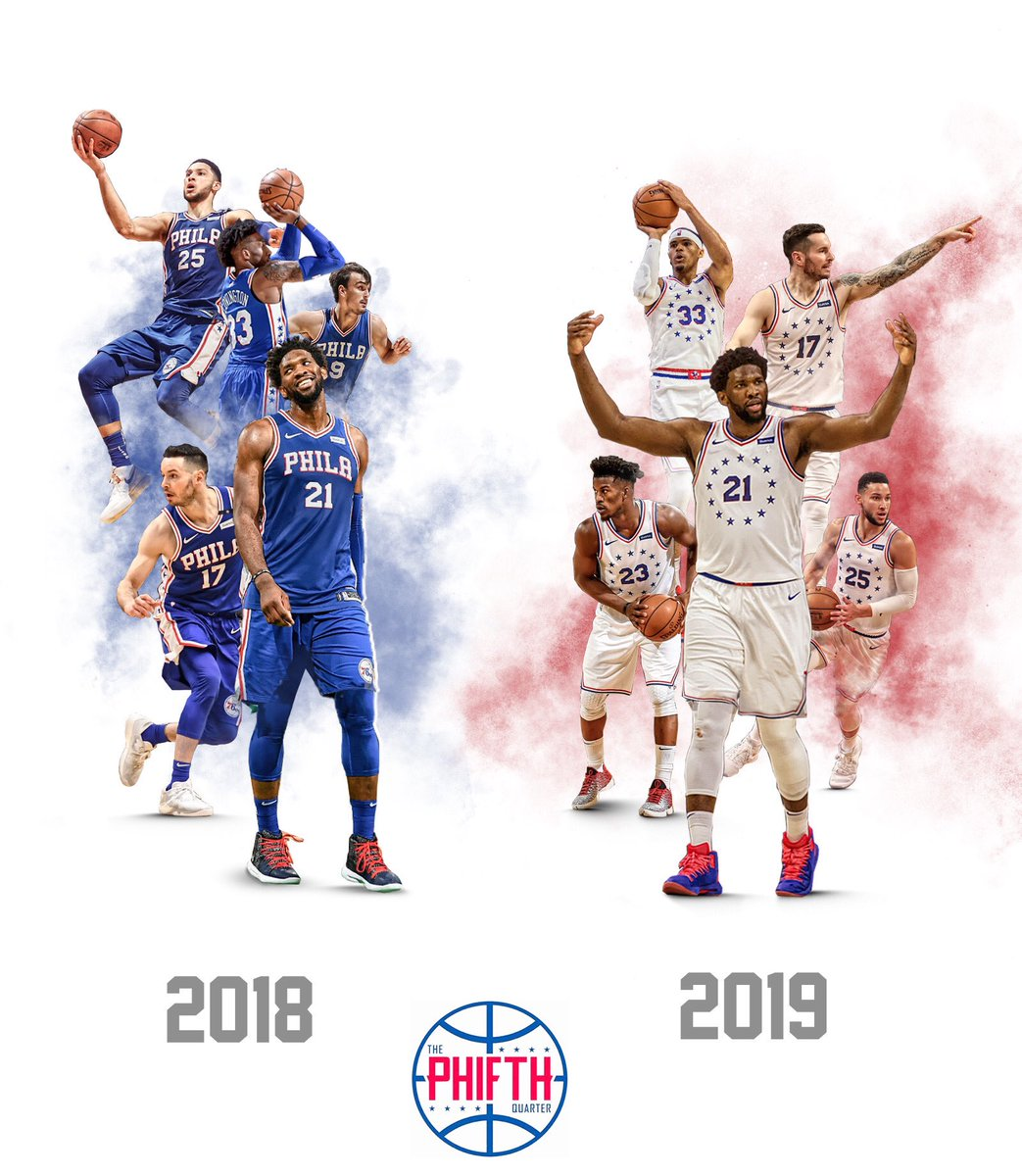 2018 Sixers or 2019 Sixers?? https://t.co/bFnqlZfLmp