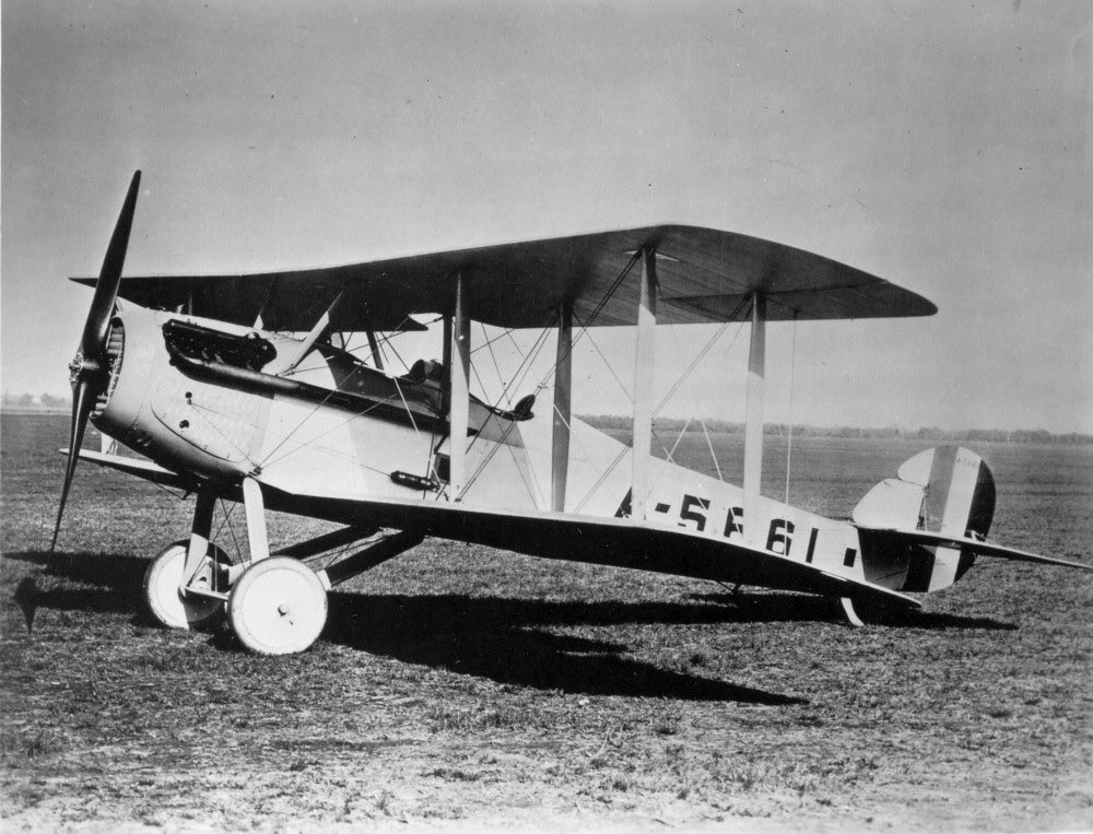 The Vought VE-7, a @USNavy plane, makes its first flight.pic.twitter.com/vMMW8bSpxf