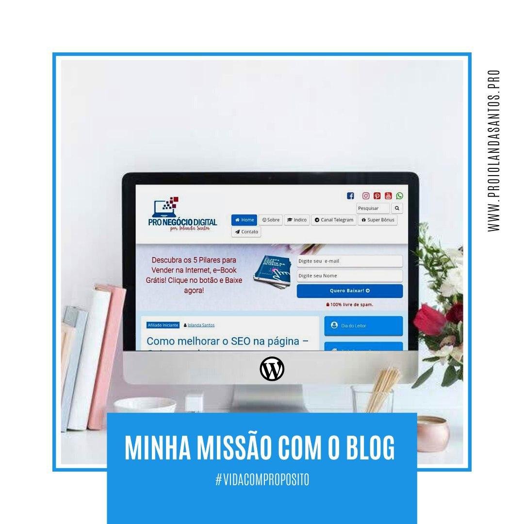 https://www.instagram.com/p/CAsglbcFtZb/?igshid=13nlj0wj6ungy… confira no post de hoje minha missão com o blog WordPress. #missaodevida #negocioproprio #trabalharemcasa #empreendedoraonlinepic.twitter.com/TePvs6WyBJ