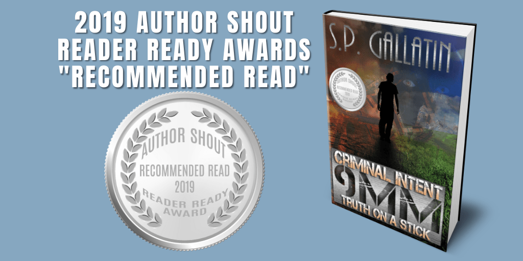 Reader Ready Award Recommended Read  Criminal Intent 9 MM Truth On A Stick is available at https://amzn.to/2uX8gKi    #award #awardwinning #awardwinningauthor #asmsg #book #books #amreading #indiebooksbeseen #recommendedreadpic.twitter.com/GFVIGdtDBl