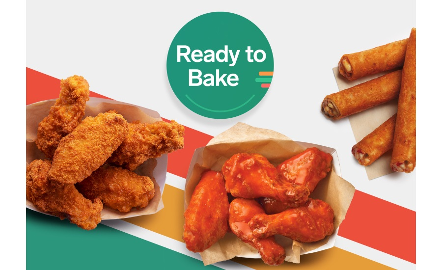 .@7eleven introduces ready-to-bake options    #pizza #wings #taquitos