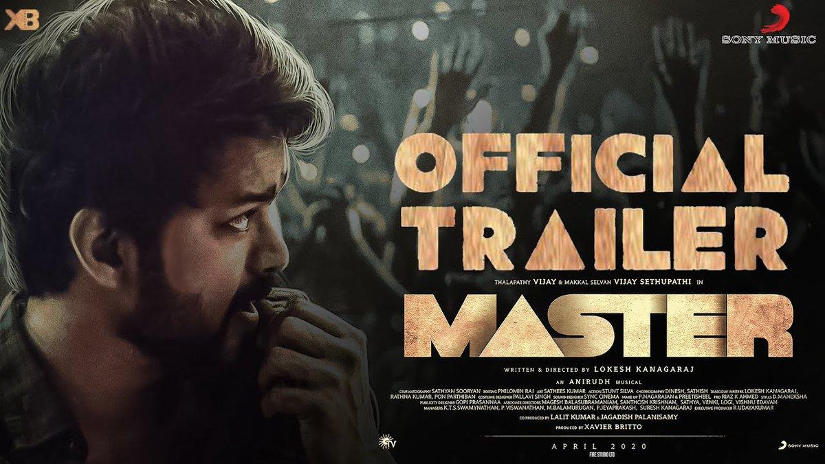 EXCLUSIVE: Master Official Trailer On Thalapathy Vijay Birthday? | Lokesh Kanagaraj | Anirudh   Video link - https://youtu.be/2K7A_h9Pres   #MasterTrailer #MasterTrailerUpdate #MasterUpdate @Dir_Lokesh @anirudhofficial @XBFilmCreators   #GalattaTamil #GalattaMediapic.twitter.com/wkoj1EXc8h
