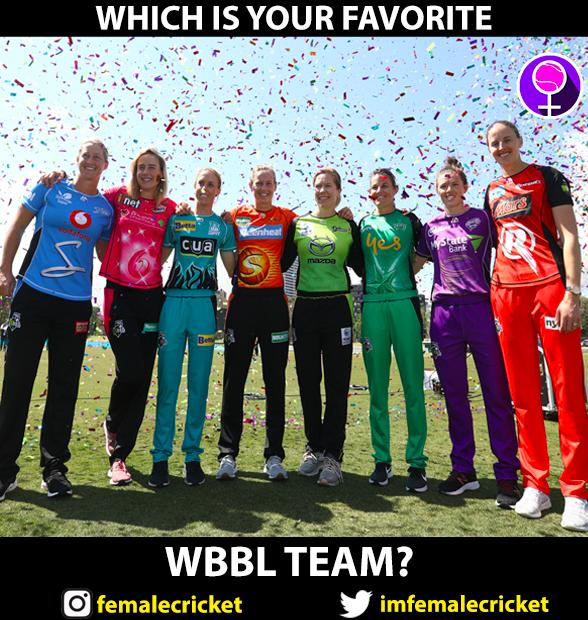 Pick your favorite @WBBL team <br>http://pic.twitter.com/PJxpOI77xR