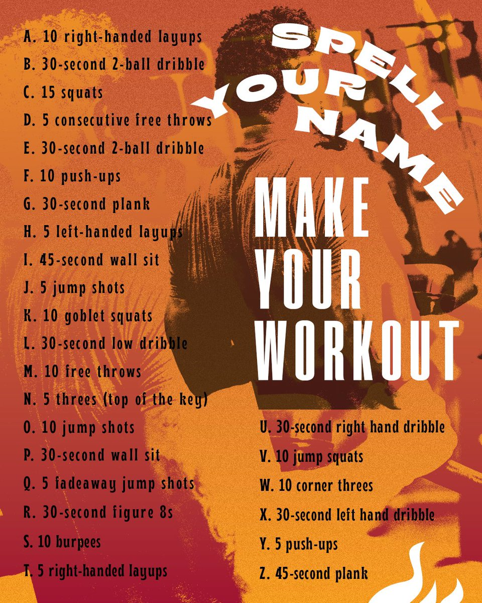 We dare you to use your F-U-L-L  N-A-M-E. #WorkoutWednesday https://t.co/HI6XwPdR8l
