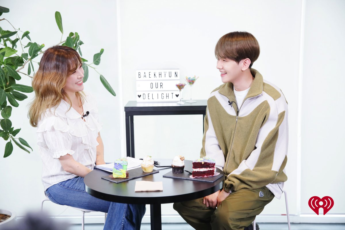 We had the chance to sit down with @weareoneEXOs sweet powerhouse vocalist @B_hundred_Hyun to talk new music and answer fan questions! Exclusive interview with @stacynam coming soon! #BAEKHYUN_Candy #EXO #iHeartBAEKHYUN