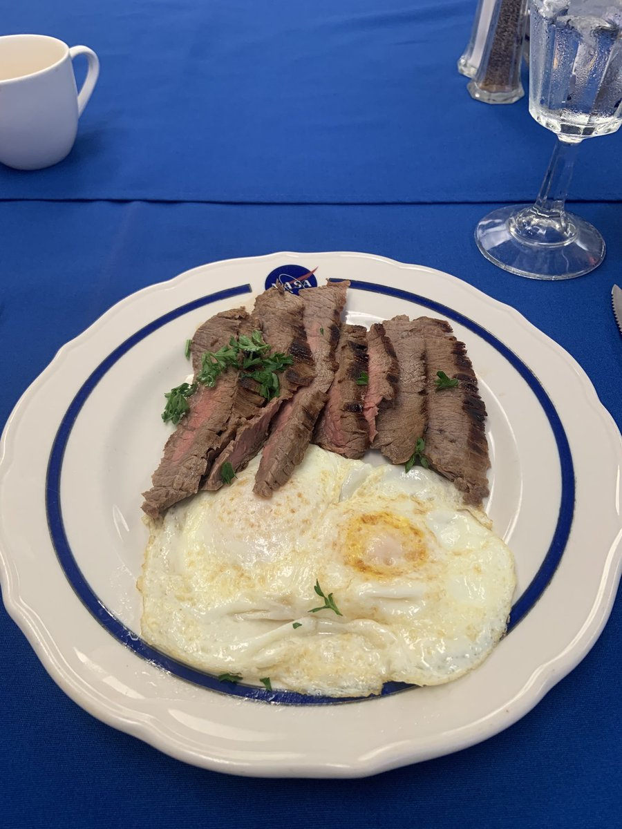Steak and eggs. Question answered!