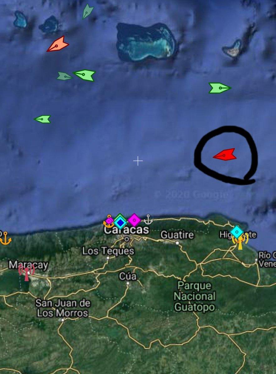 #petunia tanker vsl is near to coast of #Caracas Destination is El Palito port.  Viva #venezuelapic.twitter.com/DO3GYAZr8L