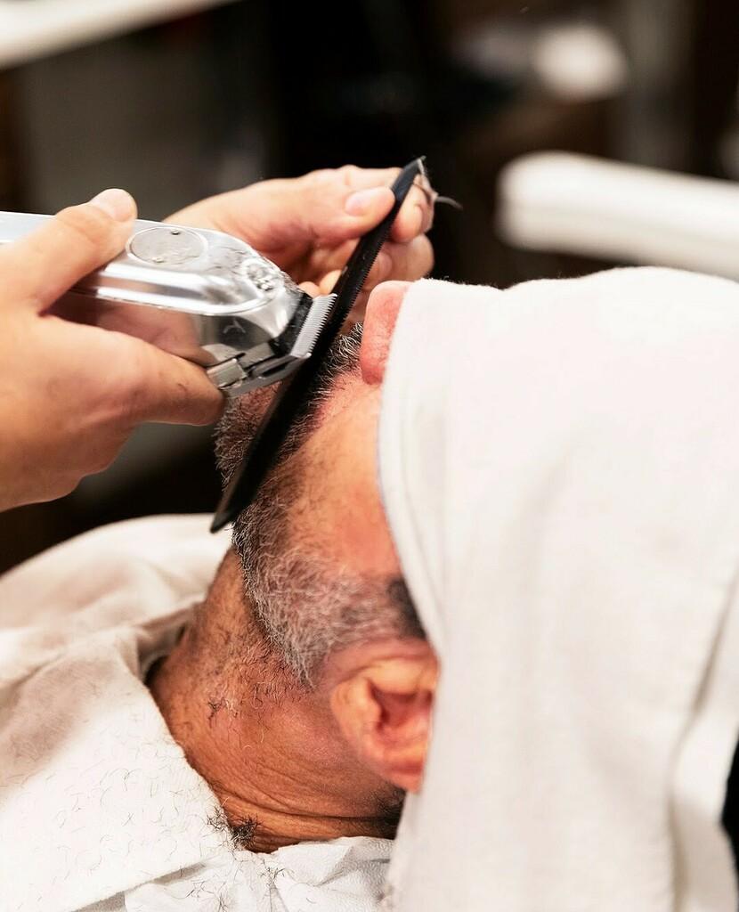 We will help you with that beard trim soon.     #barbershoplife #barbering #malegrooming #selfcare #beardtrim #beardcare #mensshave #beard #beardstyle #tailored #NY #SF #trim #fellowbarber https://instagr.am/p/CAscK99nxup/pic.twitter.com/isbAnP0vnG