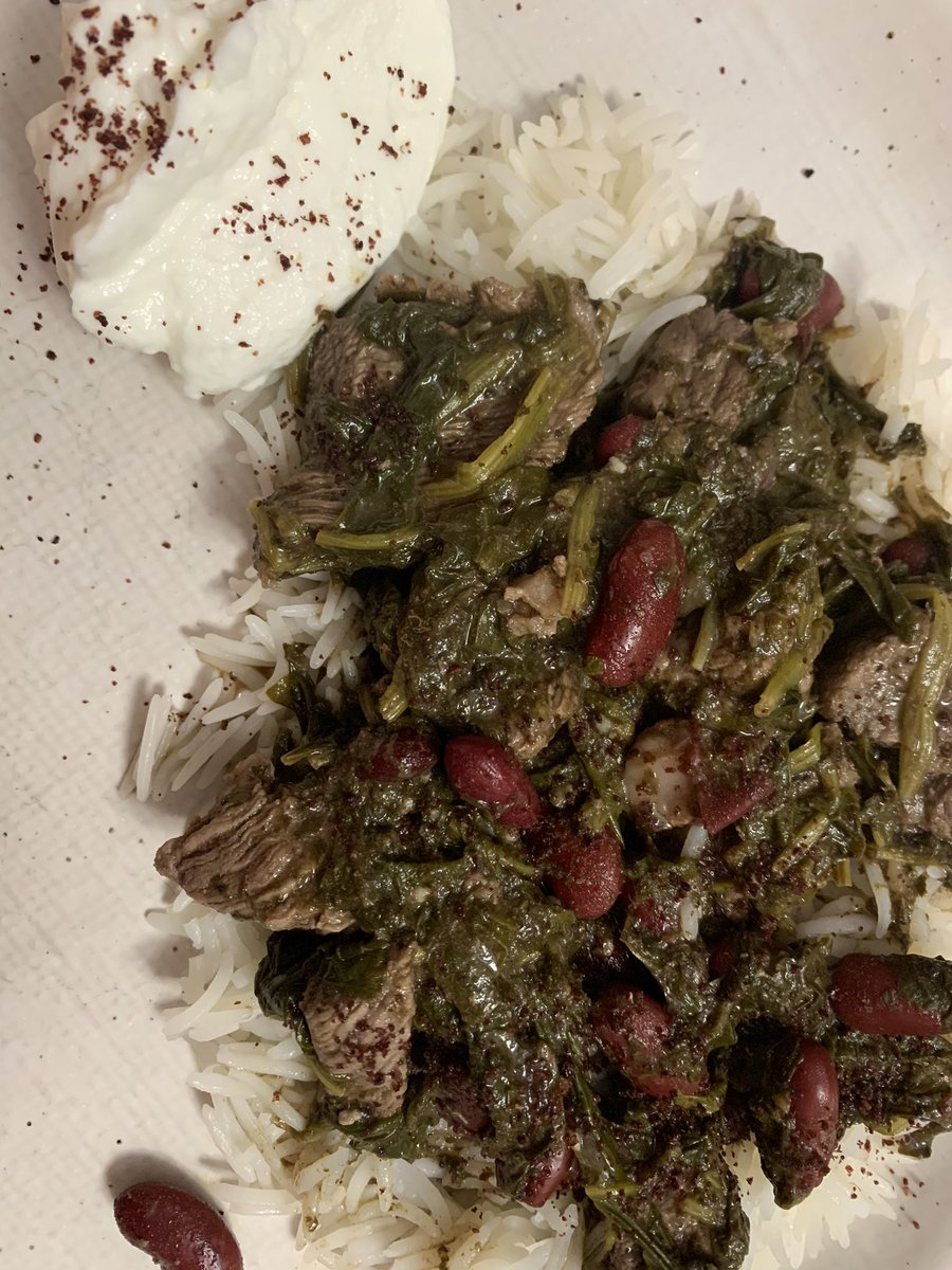 I made Persian food last night and it was delicious