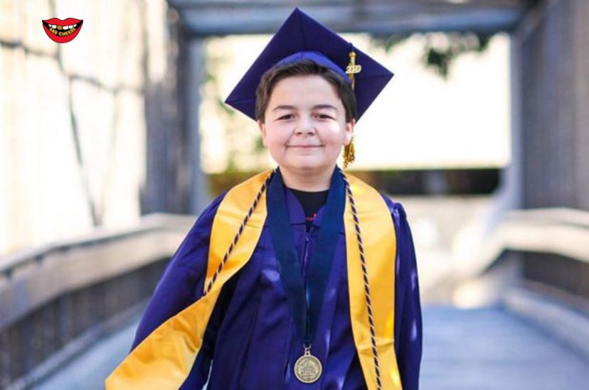 A 13-year-old California boy named Jack Rico just received his fourth associate's degree. He's set to attend the University of Nevada https://t.co/mWbfUDzTPi