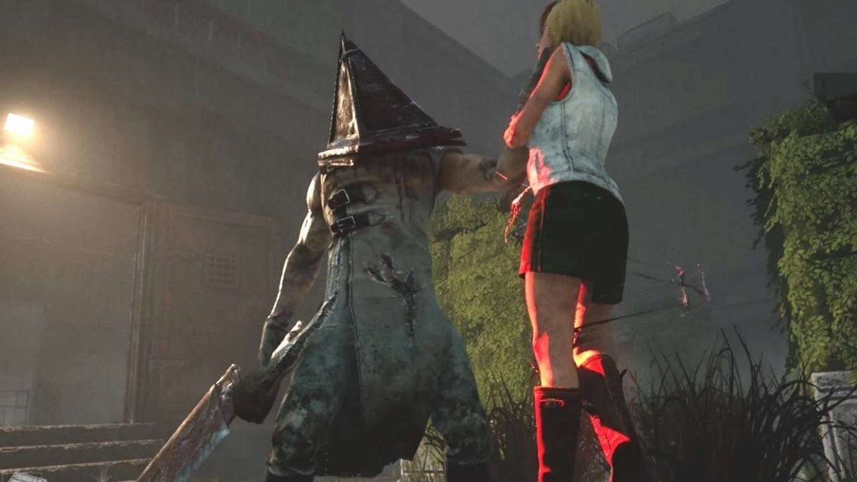 As fans of Silent Hill, I can assure you that we made sure Cheryl and James' Pyramid Head have a good reason to appear in DBD side by side ;) In The Entity's Realms, worlds collide! https://t.co/Z3gA0E9RPQ