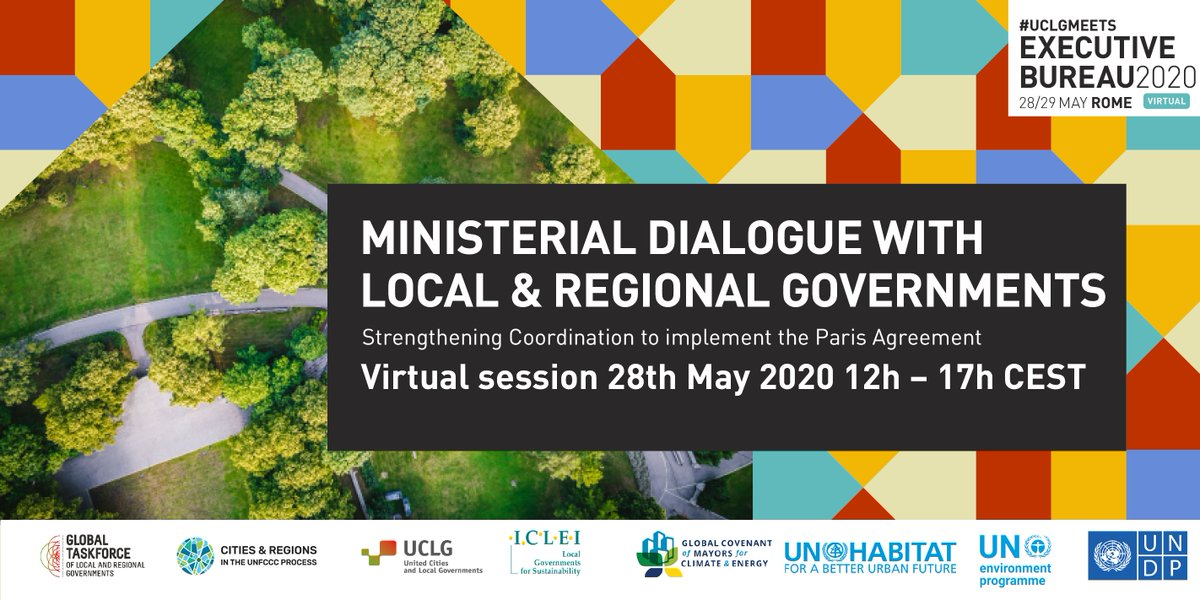 How national and #localgov coordinate their climate action❓  ✨Our constituency is ready to deepen the dialogue on climate with high-level representatives from the @UN, partners & climate champions  #Listen2Cities #UCLGMeets  👀our interesting agenda!!!