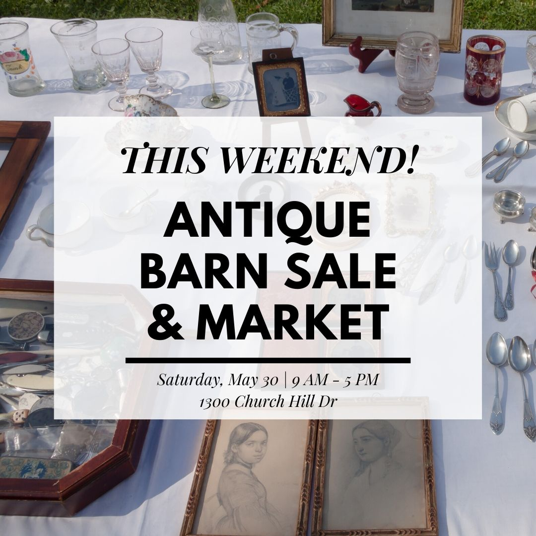 This Saturday is the Antique Barn Sale & Market. Doors open at 9am and won't close until 5pm. We hope to see you there!  #openairmarket #antiquesale #antiques #vintagepic.twitter.com/ooT0vMjlez