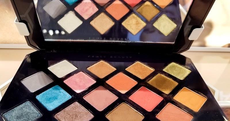 Moroccan Spice Eyeshadow Palette - Swatches Fenty #beauty by Rihanna. #lovebeauty