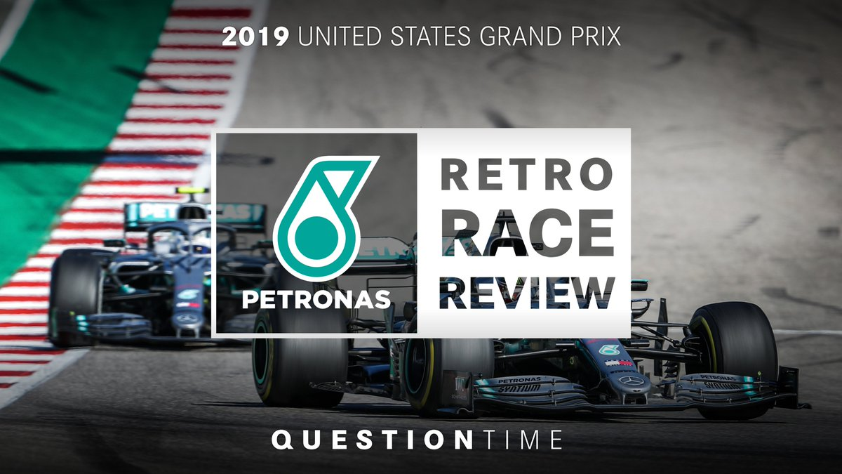 A historic day for #PETRONASmotorsports, which we don't mind revisiting one bit! 😍  Let us know what you'd like to know about the 2019 #USGP, ahead of next week's @PETRONAS Retro Race Review 👇🧐 https://t.co/2gJo2tWSzA