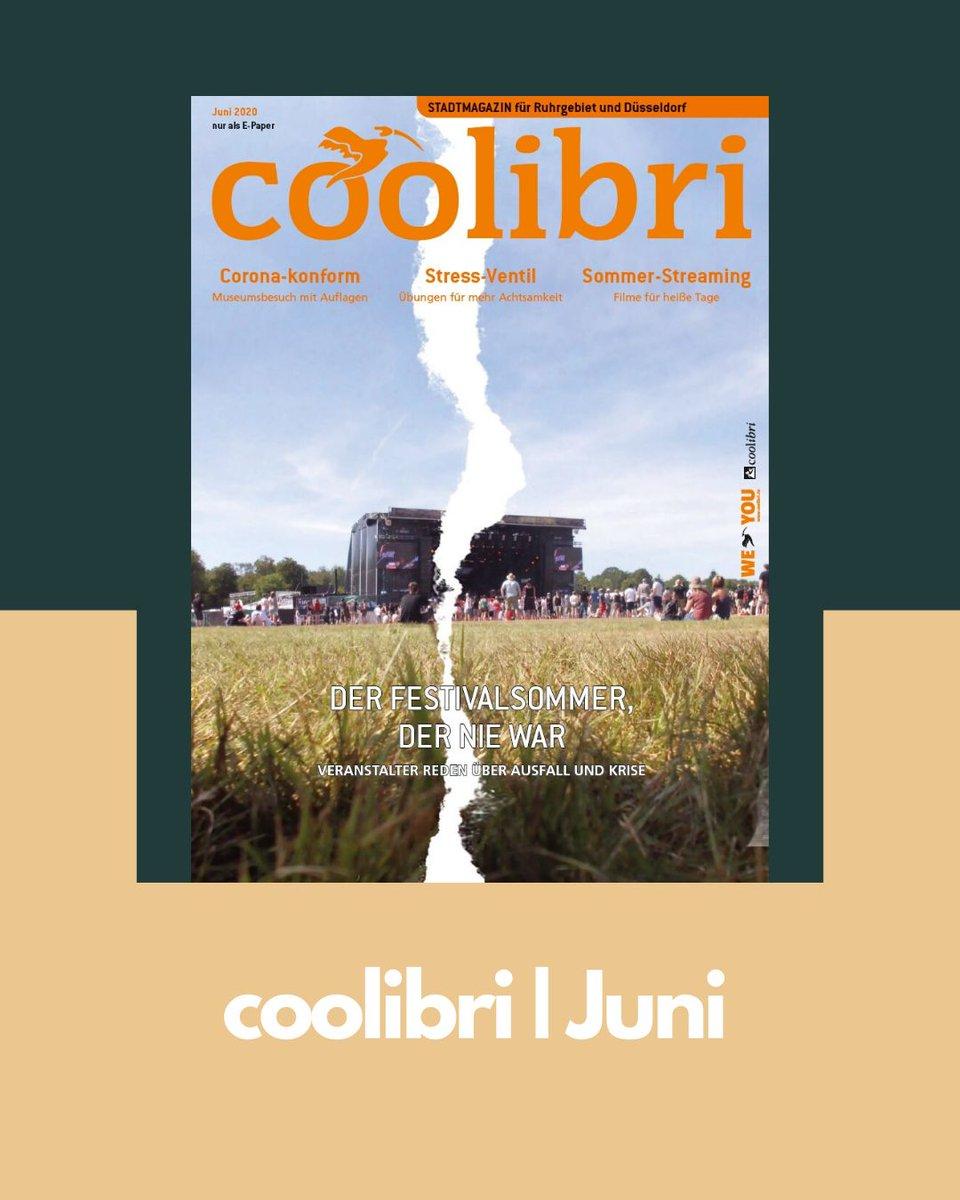 Auch unser Juni-Heft erscheint Corona-bedingt nur digital, aber wie gewohnt mit lesenswerten Inhalten. Wir werfen unter anderem einen Blick auf den ausgefallenen Festivalsommer. ________________________  Hier lang geht's zum E-Paper: https://t.co/Jj21hE4rX4 https://t.co/tFvrffk2DJ