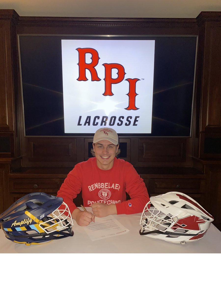 Congrats to Drew Teff who recently committed to play lacrosse at Rensselaer Polytechnic Institute(RPI).   Drew was a 4 year letterman for the Middleton Lacrosse team with 136 career points and a 5-0 record versus Verona and Waunakee last year. https://t.co/hHBsPQCbeZ