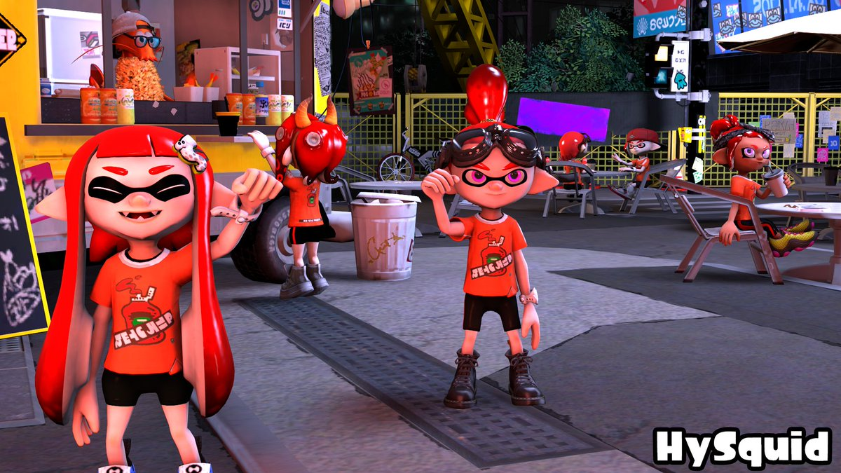 A little poster to celebrate the win of #TeamKetchup !  Featuring : @Fleo_Gama, @MorgansRuby, @Soph_splat, @WNotirem and me of course.