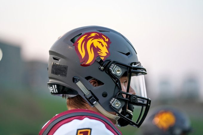 so were moving on and were 4-0 in this thing, but remind us next time we enter a national helmet design tourney that we choose a photo where Max Knight 18 PUTS HIS LION DECAL ON STRAIGHT though our friends over at @LakesideLionsBL are probably appreciating the tilt game ↘️