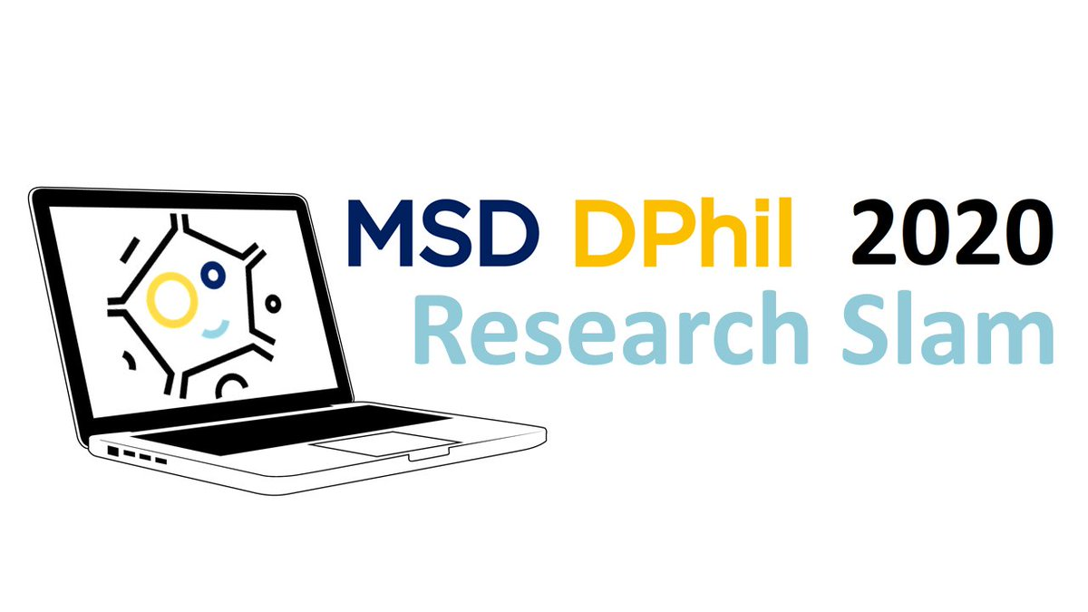 📣 DPHIL STUDENTS: Take a break and find out more about the work of your DPhil peers at the #MSDResearchSlam2020!   💰 Audience cash prize up for grabs!  🗓️ Join us on Zoom, Thursday 4 June, 3pm (fortnightly event)  Sign up to attend here https://t.co/wvCtqksBOK https://t.co/zNEUkeSoaR