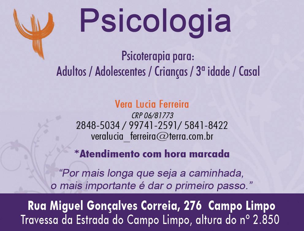 #psicologia #psicologiacampolimpo #psicologiacapaoredondo #revistaguiacity #veraluciapsicologa