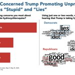 Image for the Tweet beginning: Americans are most concerned Trump