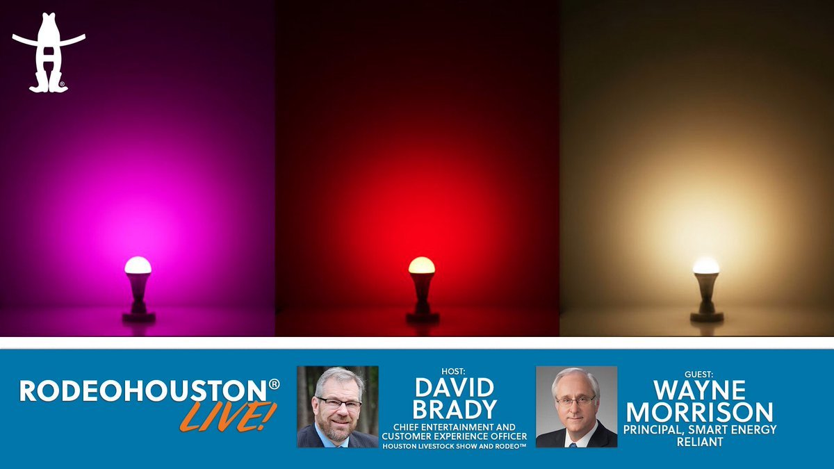 WATCH LIVE: Today we are live at the Reliant Smart Home! Join us on Facebook and YouTube at 11 a.m. as we learn about smart technology for your home, color changing LED lights and more! 💡 Watch our live webcast with @reliantenergy's Principal of Smart Energy Wayne Morrison!