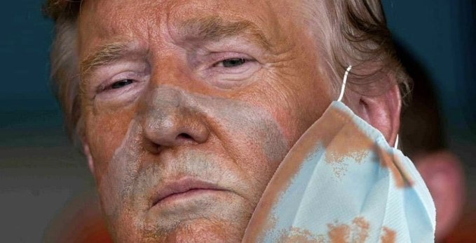 Like most people, the majority in fact, I have #hadenough of #COVIDIOTS destroying America.   PS: There is a reason he won't wear the mask. *Trigger Warning: The image below can cause nightmares* pic.twitter.com/9O8ptqnhJK