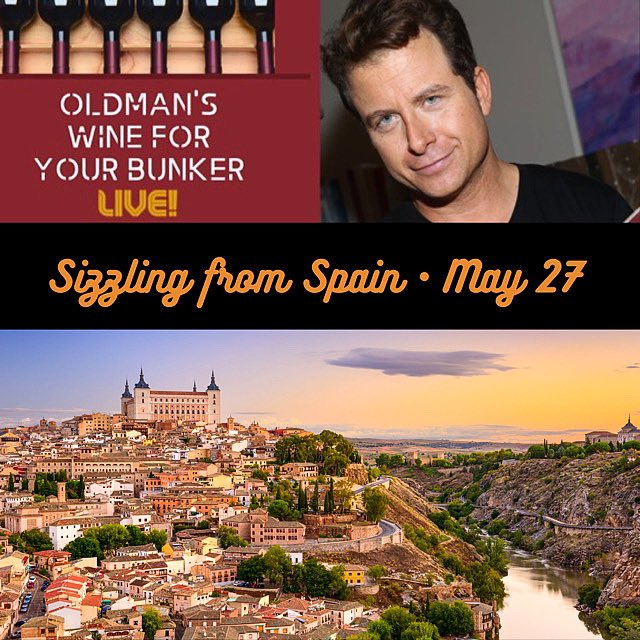 """a few precious, spicy spots remain for tonight's """"Sizzlin' from Spain""""  virtual wine tasting at 8pm ET. Grab 'em here: https://www.eventbrite.com/e/105175163746  - #virtualwinetasting #winetasting #wineseminar #wineclasses #Spanishwine #wine #vino #wineeducation #wineoclock #WineWednesdaypic.twitter.com/A6RRu8XeuB"""