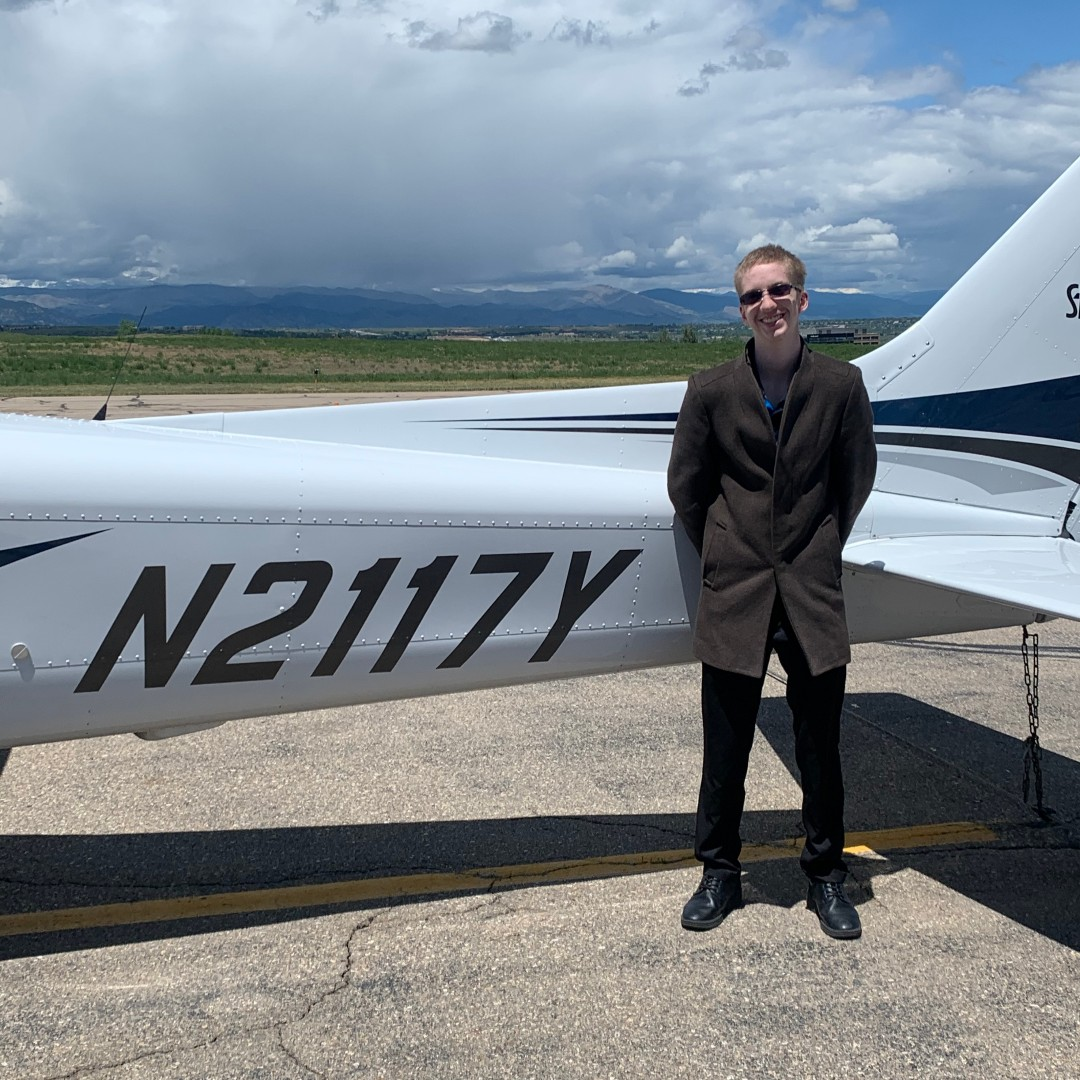 Hard work pays off! ✈️ Congratulations to Tanner White for passing his Private Pilot checkride! #FlyMcAir #aviation #privatepilot #studentpilot https://t.co/rLzuPsf4rK