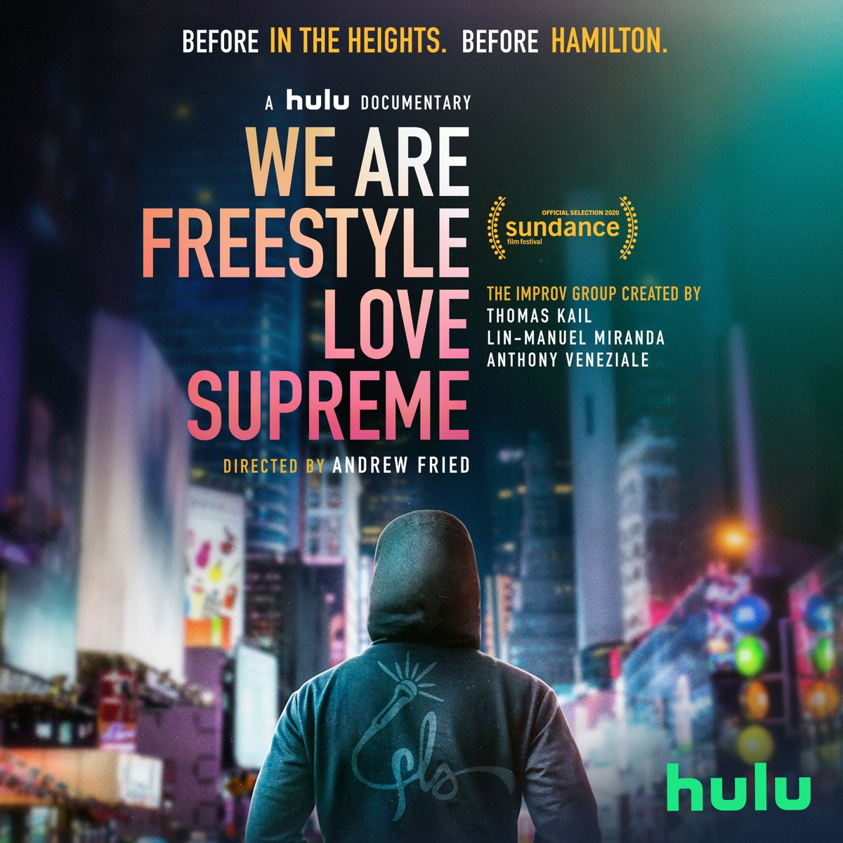 #WeAreFreestyleLoveSupreme comes to @Hulu on June 5 and weve got a trailer headed your way TOMORROW. Get ready 🎤