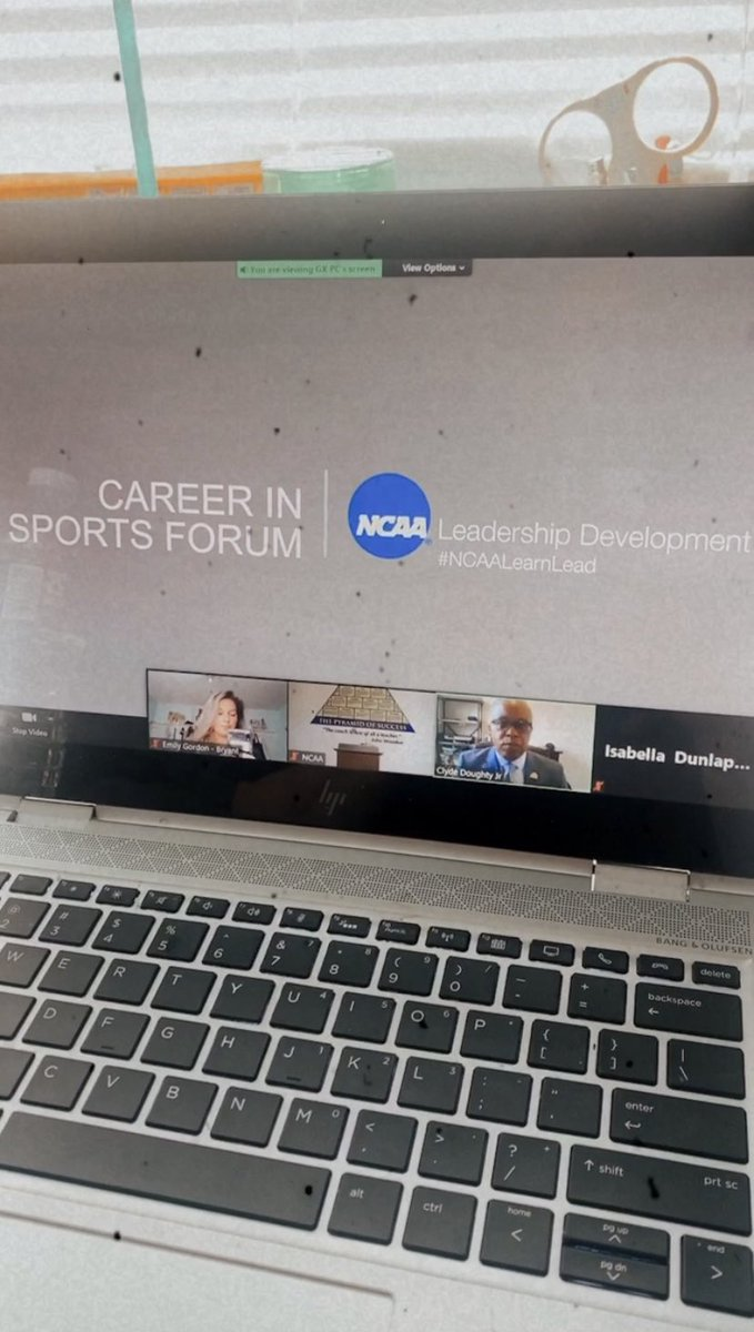 Excited for day 1 at the NCAA leadership development via zoom and to represent @BryantAthletics #NCAALearnLead https://t.co/yoJYlmFWYP