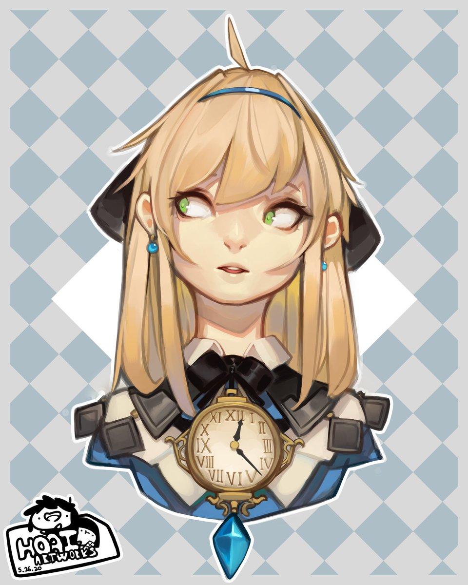 Alice in Wonderland inspired #characterdesign bust pic.twitter.com/6Oev3NYa82
