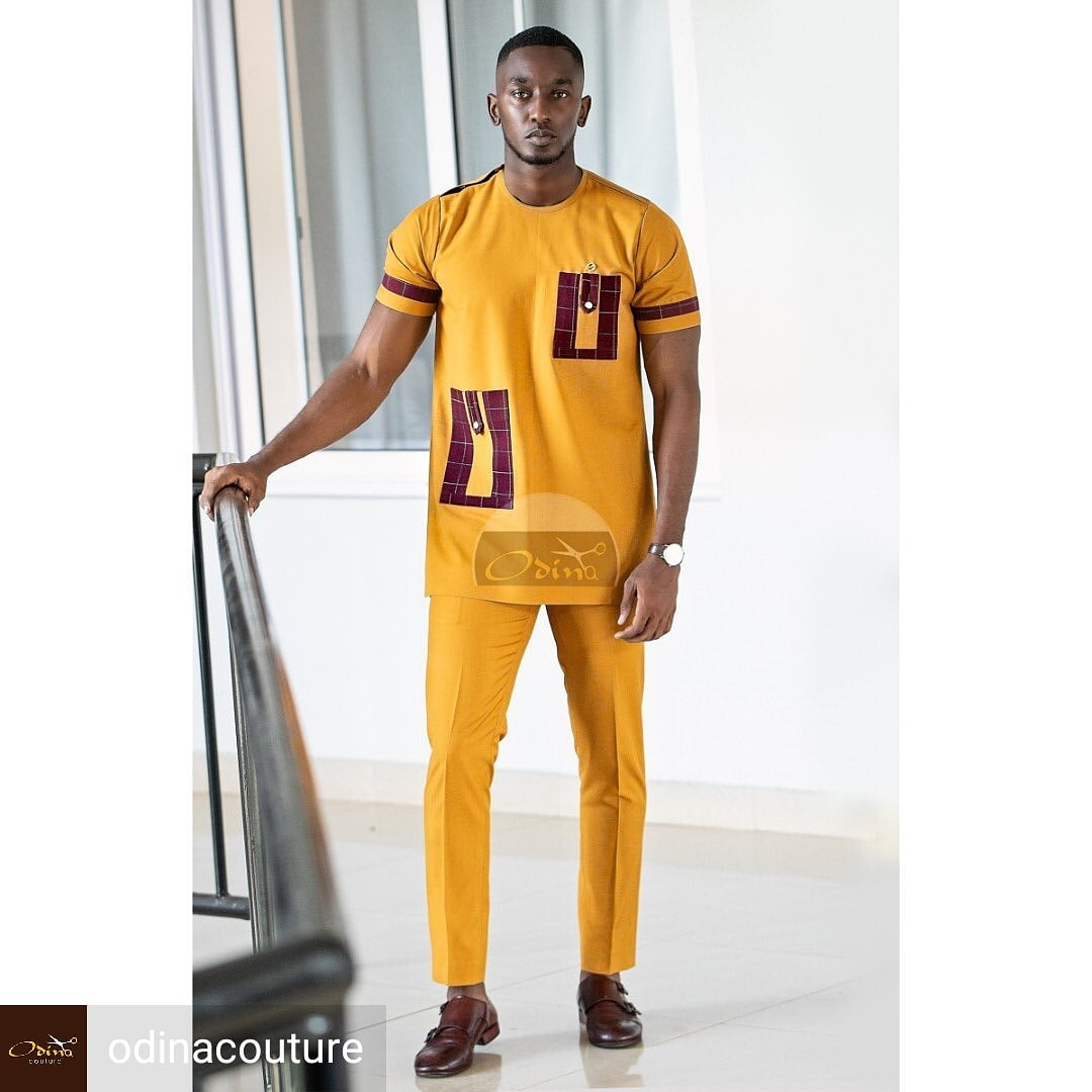Dashing! @odinacouture  Model @kevinebong_ym   African Fashion? Then the #AfriqOkin app is perfect for you!  Click here to downlad  http:// onelink.to/dut9rz     #AfricanFashionApp #AfricanFashion #AfricanPrint #AsoEbi #bellanija  #asoebibella #nkonsonkonson #africanfashionbloggers<br>http://pic.twitter.com/PePaWTdmu4