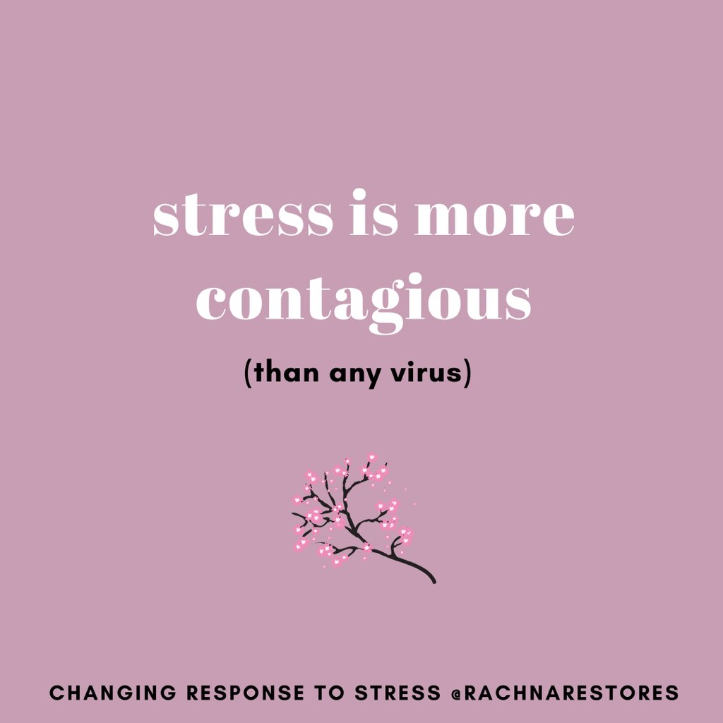 Much more than #COVID__19 #virus #stress can be #transmitted #contagious from one person to another. So if you're living with a stressed-out partner, that stress is transferring to you. Cut the cycle of stress, how-to in my #instagram #Profile   https://t.co/0ACpl4Zbcr https://t.co/zwg4yWnwUP