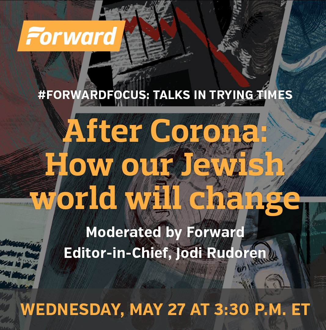 The @jdforward is digitally convening a panel today at 3:30 p.m. ET. I will be one of the speakers.  Sign up for it here: https://t.co/7pJ8boORHa https://t.co/b1hnDgHTJZ