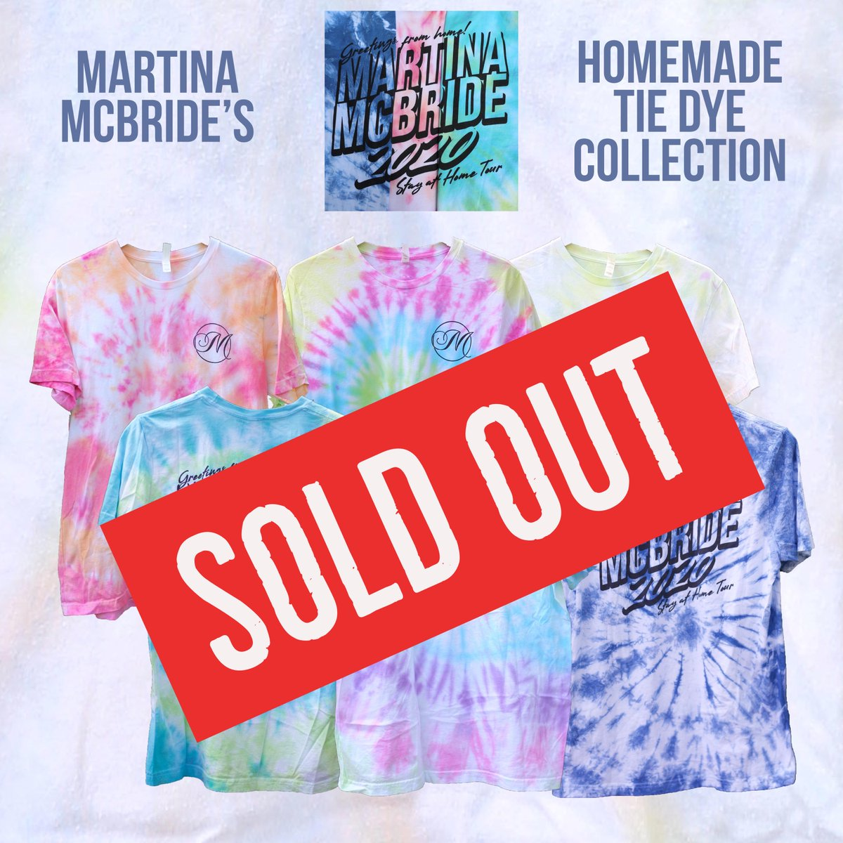 Thank you so much! I had intended for this to be a one-time thing but due to the overwhelming demand, we're going to print another round. Itll take some time as every shirt is hand-dyed by my daughters & I. I promise to have them ready asap! Let's keep raising money for charity.