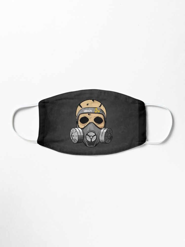 Get my art printed on awesome products. Support me at Redbubble #RBandME: 'Gas Mask Skull' Mask by LudlumDesign  #findyourthing #redbubble #mask #pandemic #epidemic #sick #flu #virus #quarantine #skull  #biohazard #zombie #horror #gasmask  #art #covid19