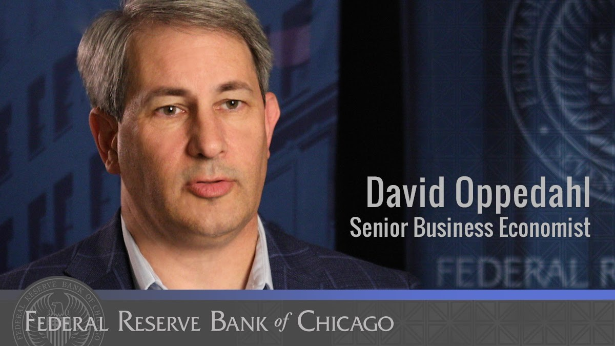 #FedFiles: David Oppedahl is a senior business economist who conducts research on the #agricultural sector and rural development, as well as analyzes business conditions and the regional economy. Learn more about David and his research:  https://t.co/GNfNAVKTAO https://t.co/C8UY4OCt8E