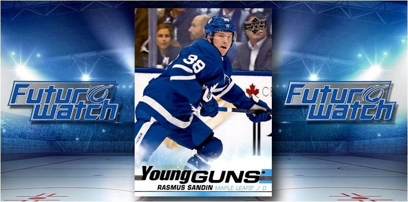 This week's #NHL Future Watch from @sportsology features @MapleLeafs future star @Rasmussandin - Read why his @UpperDeckHockey cards belong in your collection here --> https://gogts.net/future-watch-rasmus-sandin-rookie-hockey-cards-maple-leafs/… #TheHobby pic.twitter.com/5KqkhH2dTP