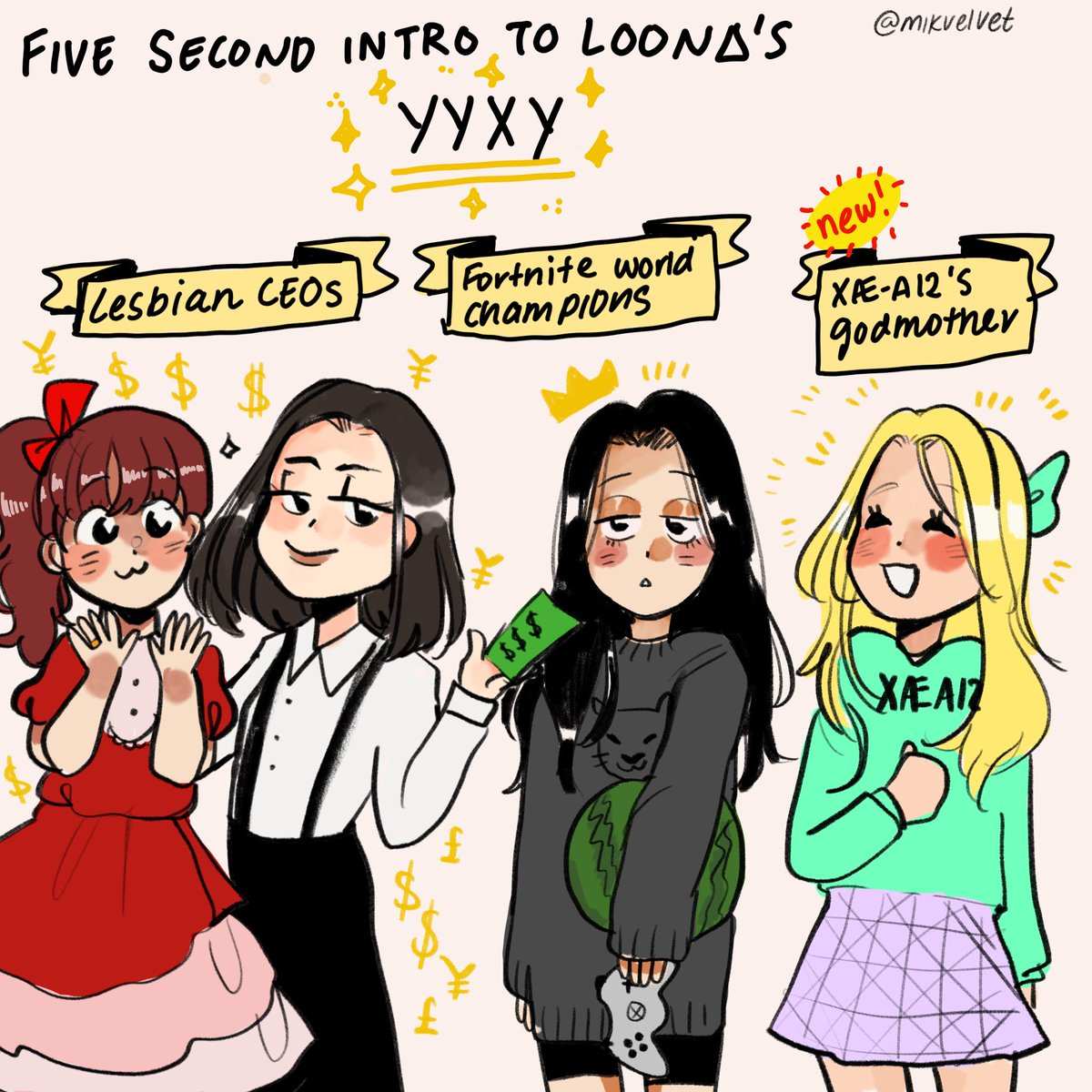 I don't quite know what I was expecting when I started stanning loona in 2018 but i sure never could've predicted this !! #loonafanart #yyxy #gowon <br>http://pic.twitter.com/ghT5qCljdF