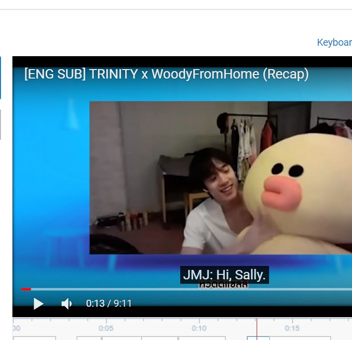say aye if you want me to upload this now   #TRINITYxWoodyFromHome  #TRINITY_TNT <br>http://pic.twitter.com/G06vLYQBeD